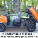2009 Kubota RTV 900 Diesel Side by Side