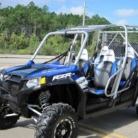 2011 Polaris Ranger Robby Gordon 4 Seater Side by Side